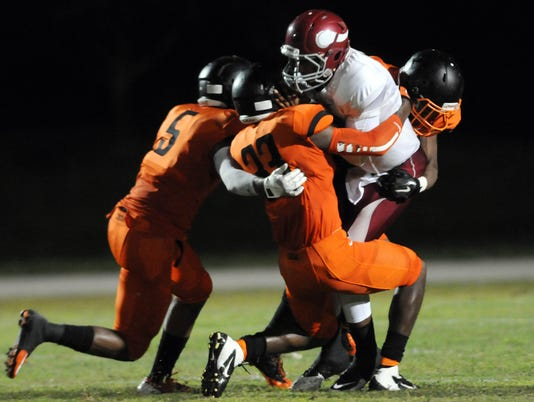High School Football: Raines at Cocoa