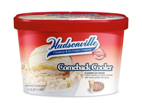 """Hudsonville Ice Cream's new """"Comeback Cooler."""""""