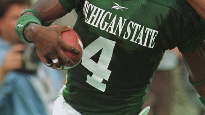 Ever see a number on a Michigan State football jersey and think of all the great players to wear it? Today, we look at the best Spartan to ever wear the No. 4.