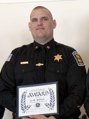 Tompkins County Sheriff Deputy Scott Walters.