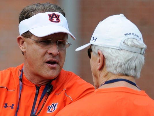 Gus Malzahn & Ellis Johnson