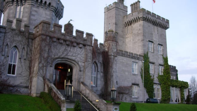 Dromoland Castle, near Shannon Airport, provides a princely welcome to Ireland.