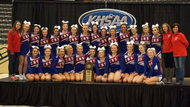 The Conner High School cheer squad won a state championship Dec. 13.