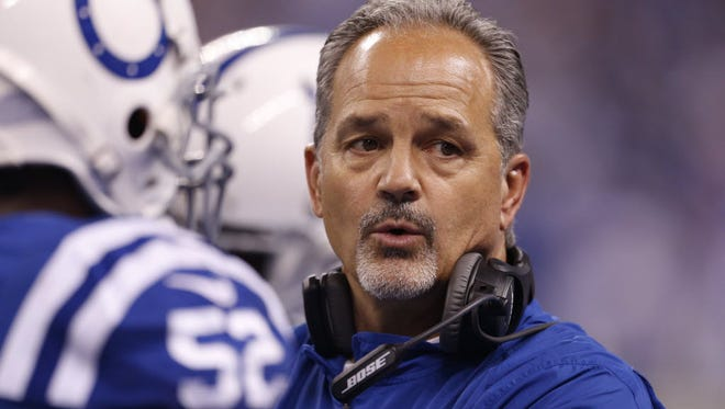 Chuck Pagano took one chance too many against Patriots.