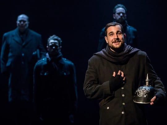 """Benjamin Dutcher in """"All Is Calm,"""" a Theater Latté"""