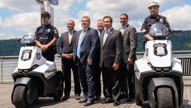 Yonkers Police has purchased two Segways.