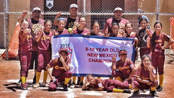 Members of the Cooper minor girls softball team are Jordin Salgado (5), Rhylinn Placencio (13), Analisa Tovar (4), Bella Saiz (27), Isenya Silva (24), Isis Dominguez (77),Ezmyah Dominguez (00), Aaliayh Salas (2) Emily Acosta (1), Jade Lozano (7), Madelyn Tellez (42),Ayvah Ortiz (99), Isabella Garcia (23), Jacinto Cardenas,manager; coaches Robert Ortiz and Manuel Maynes.