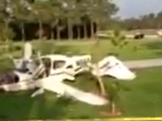 A report on a private plane crash at Pine Shadows Air