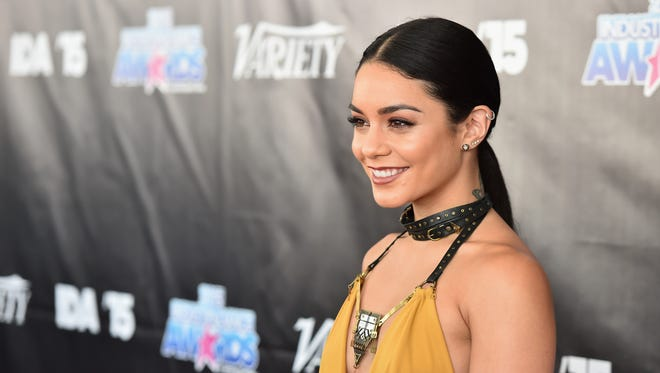 Vanessa Hudgens attends the 2015 Industry Dance Awards and Cancer Benefit Show at Avalon on August 19, 2015 in Hollywood.