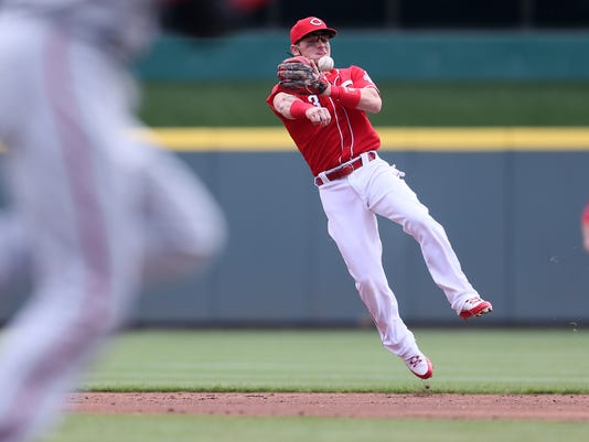 Reds may be forced to make move if Gennett's not ready Friday