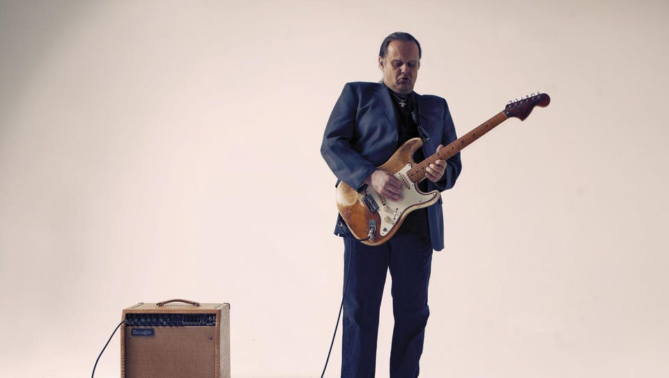 Walter Trout headlines Saturday night of the Riverfront