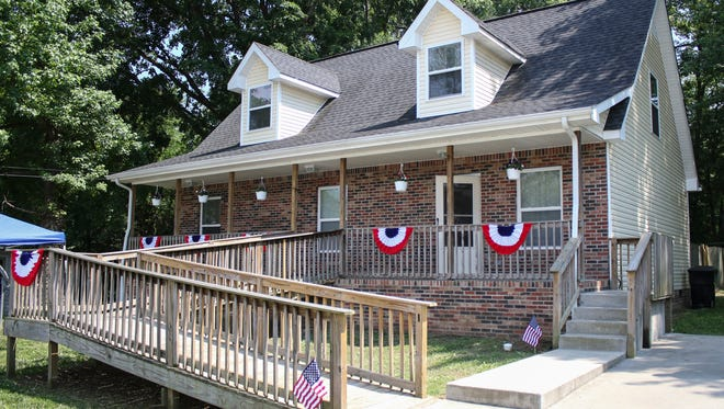Patriot Place is a five-bedroom transitional housing unit located on Daniel Street specifically for veterans.