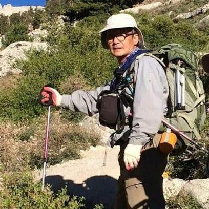 Hiker John Lee, 68, of Mentone, was found dead in Mt.