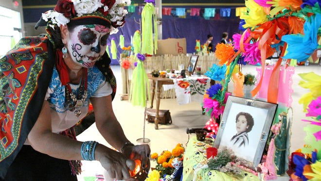 The 20th annual Dia de los Muertos celebration at Cafe Mayapan, 2000 Texas, will feature traditional altars, live music, food and family activities from 3 to 10 p.m. Saturday.