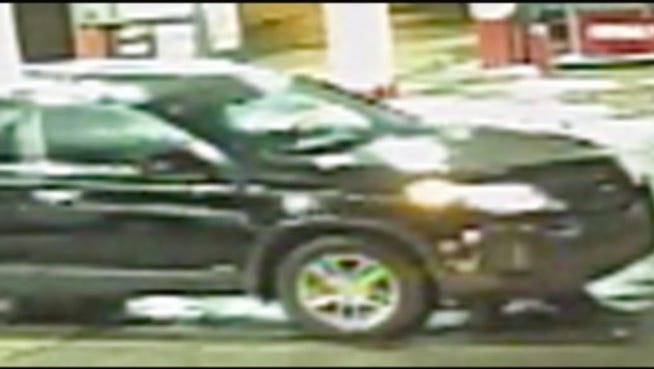 Suspect who shot 16-year-old Theothus Carter is believed to have been driving this black 2015 Kia Sorento.