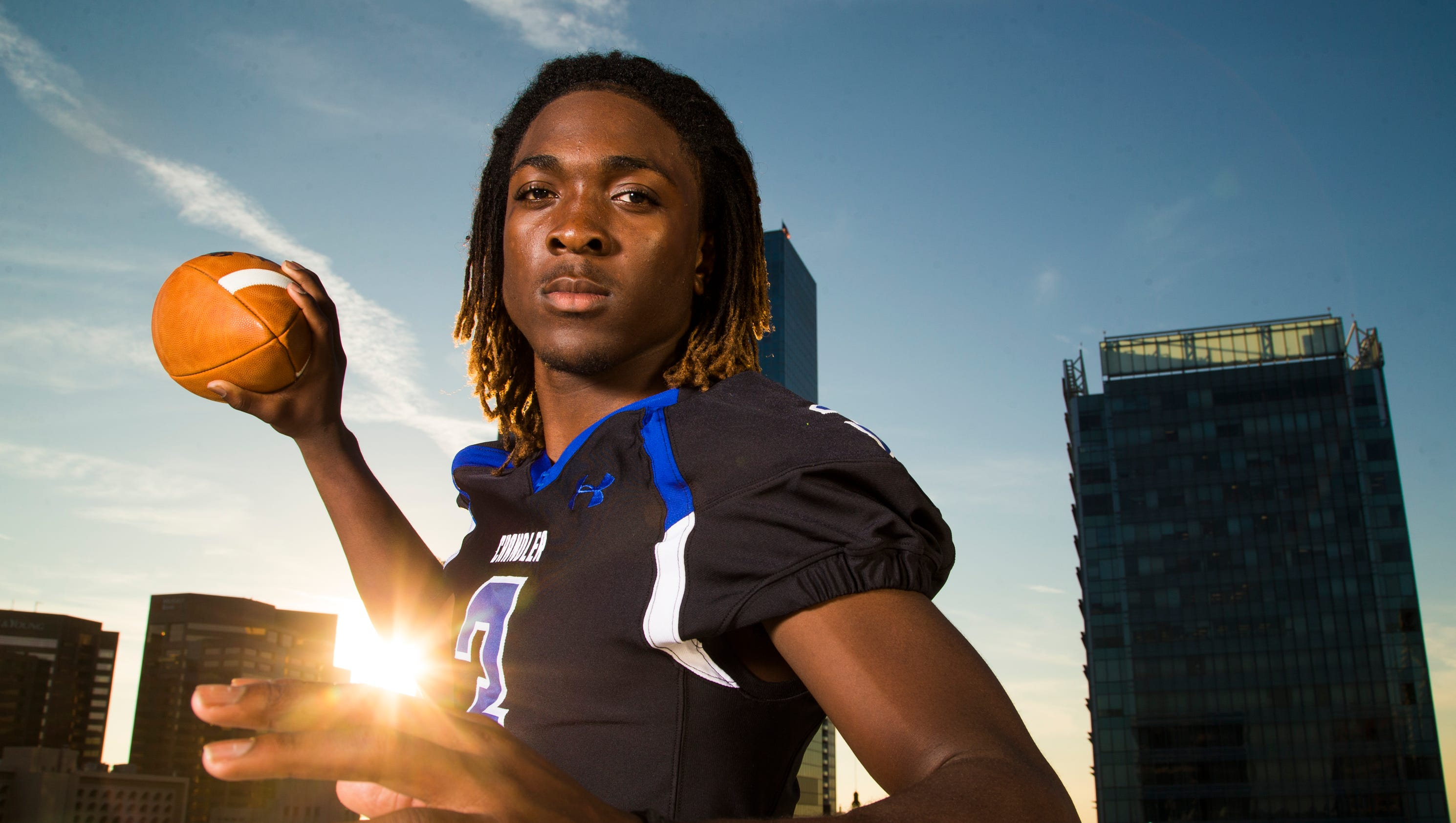 Bryce Perkins Is 2014 American Family Insurance All Usa Arizona Div I Football Player Of The Year