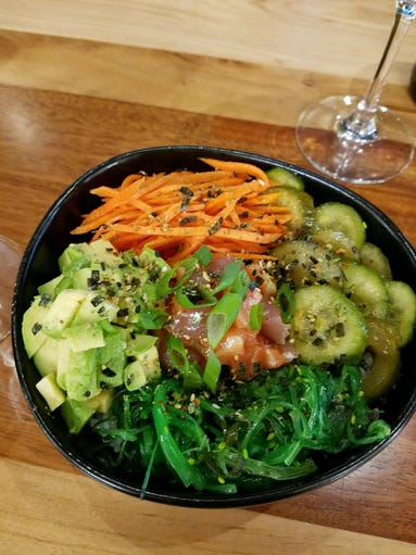 Raw fish gets trendy 10 restaurants for poke in metro phoenix for Raw fish dish