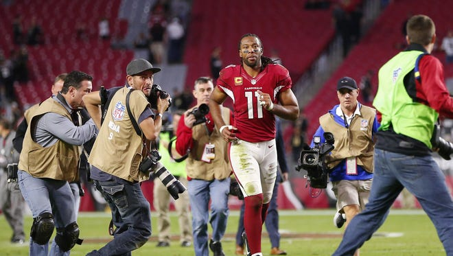 Arizona Cardinals wide receiver Larry Fitzgerald is once again ranked by his peers among the Top 100 players in the NFL.