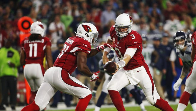 Don't expect Carson Palmer and David Johnson to come to the Cardinals' rescue.
