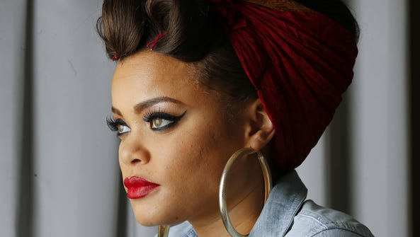 Andra Day is nominated for two Grammys — for best R&B