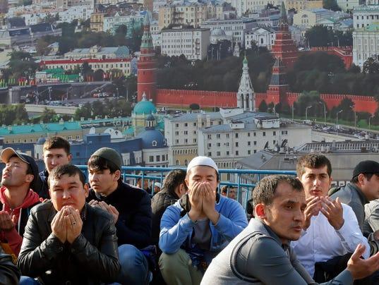 EPA RUSSIA EID AL-ADHA ISLAM BELIEF REL BELIEF (FAITH) RUS