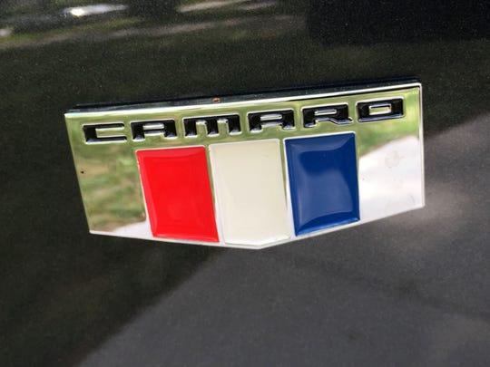 2016 Chevrolet Camaro SS convertible.
