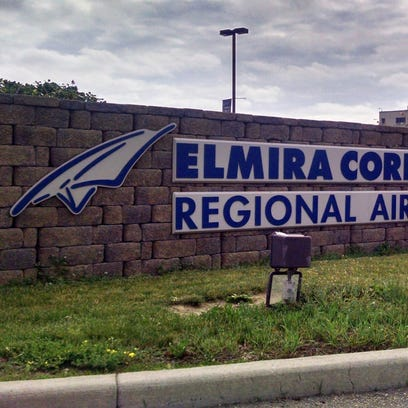 A rendering of the Elmira Corning Regional Airport's interior following completion of a $58 million expansion and renovation.
