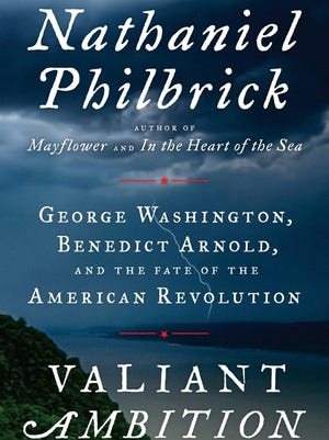 Cover of Nathaniel's Philbrick's new book on the American Revolution.