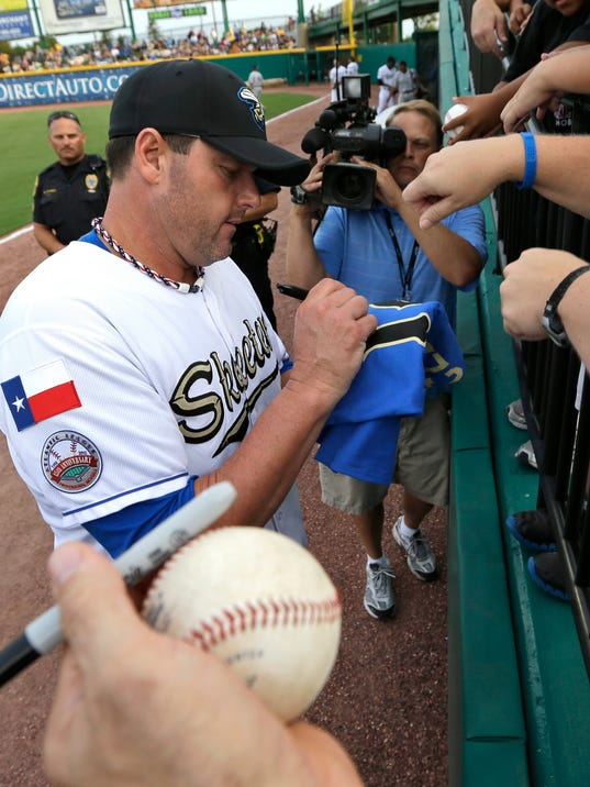 Roger Clemens will travel with the Sugar Land Skeeters to York next week, dressing but likely not playing for games Monday and Tuesday.