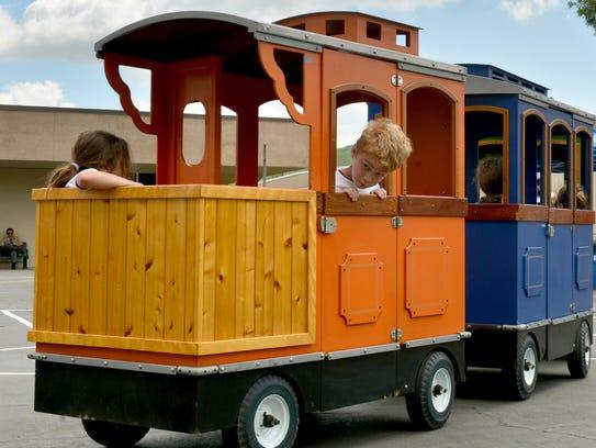 Ride a train this weekend in Goleta.
