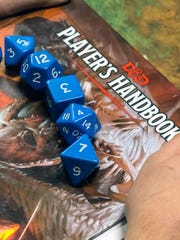 Polyhedral dice provide the direction in most role-playing games like Dungeons & Dragons. Oct. 4, 2017