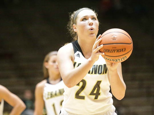 Lebanon's Kristen Spolyar is not only among the state's top scorers, but the nation's as well.