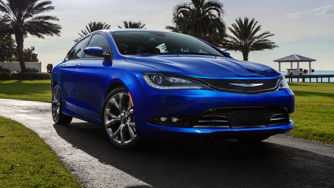 Chrysler and Fiat financial results reflected the costs of launching new models including this 2015 Chrysler 200 sedan that went on sale in May.