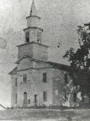 The Congregational Church of Parma and Greece was built in 1824-25.