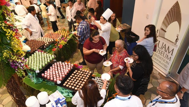 Desserts of all kinds were featured at the 2017 Pastries in Paradise event at the Guam Museum on Thursday, May 11.