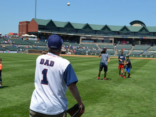 Father's Day at the Somerset Patriots