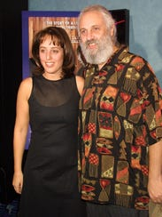 Director Gillian Grisman, left, and her father David