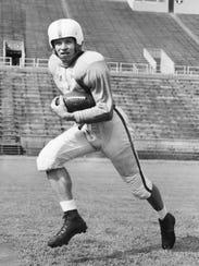 45 – Johnny Majors, Tennessee (1954-56): Majors finished
