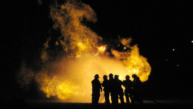 AmeriGas provided fuel for a liquefied petroleum gas training at Big Bend-Vernon Fire Department in 2009.