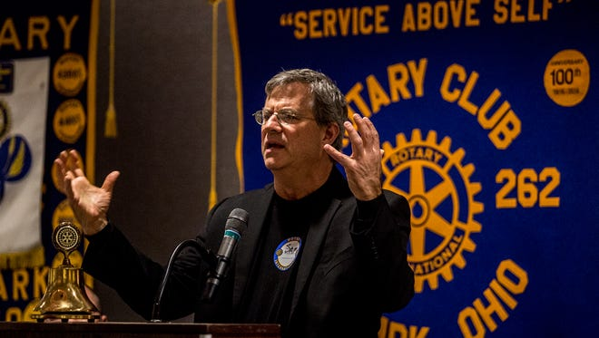 Sam Quinones, former reporter for the LA Times and author of the book Dreamland speaks at Rotary, Tuesday May 8th.