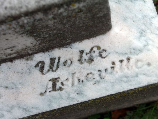 The signature of Thomas Wolfe's father, W.O. Wolfe,