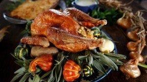 Roasted heritage turkey