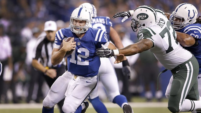 Tops on Andrew Luck's priority list come fall 2016? Slide more.