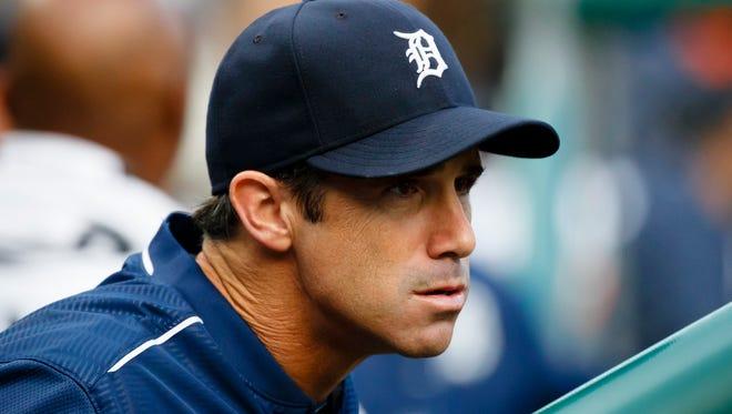 Detroit Tigers manager Brad Ausmus.