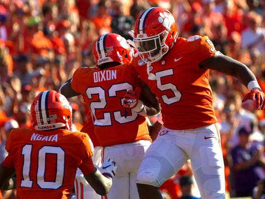 Clemson Tigers at Syracuse Orange odds, picks and best bets