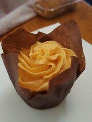 The Vegan Pumpkin cupcake ($4.25) at Let Them Eat Cake,