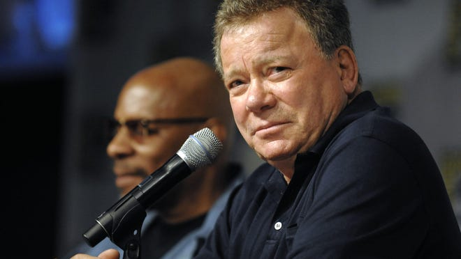 William Shatner answers during a previous Comic-Con event.
