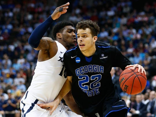 Former Pike star R.J. Hunter lasted until the 28th pick in Thursday's NBA Draft.