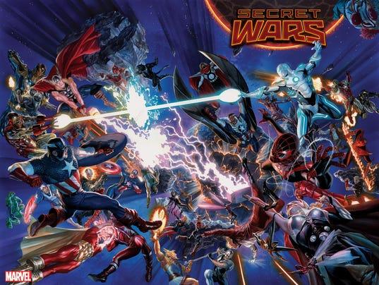 Secret Wars cover