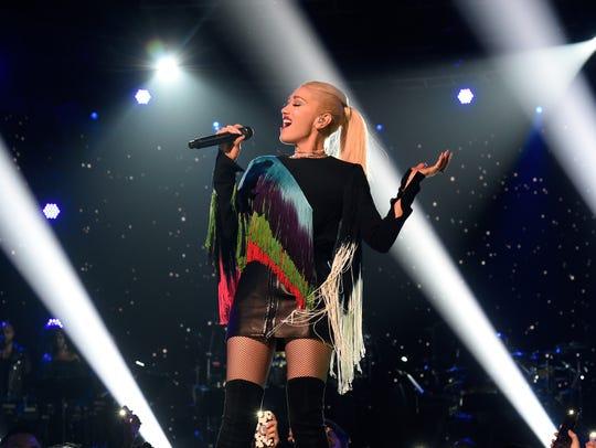Gwen Stefani performs in L.A.